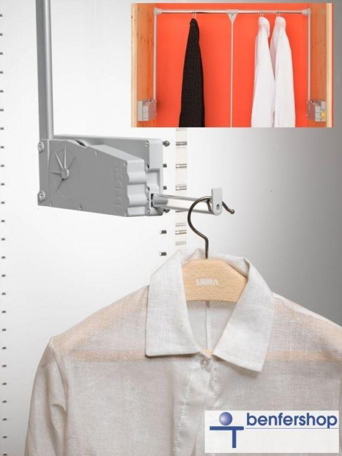 Size : 25cm Garderobenstange f/ür Kleiderschrank 25//30//35//40//45 50cm Ausziehbare Kleiderb/ügelschiene Versenkbare Handtuch-